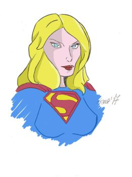 Supergirl by FranzArt0789