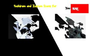 Reshiram and Zekrom YT Icons by mop12retruns