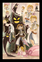 Okage Watercolor Sketches by Shinyako
