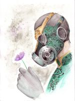 Gas Mask by Rivan145th
