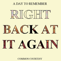 ADTR Common Courtesy, Right Back At It Again cover by WizE-KevN