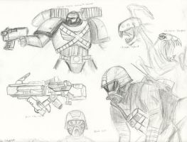 Black ops sketch 3 by MARTENSIT