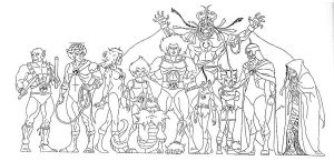 thundercats 1 by AlanSchell