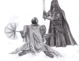 Revan and Mandalore by mando-christian