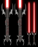 Double Sabers for Valkas by mauls-sweetheart