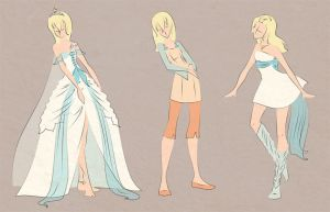 Namine outfits by scaragh