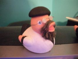 Jamie Hyneman Duck by msfurious