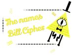 Bill Cipher Stamp by MrBoogeyman