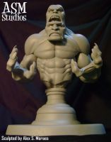 BI-BEAST MINI BUST 01 by ASM-studio