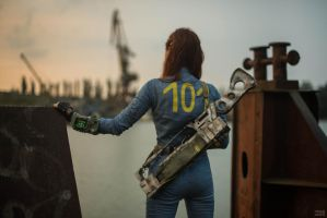 Fallout 3 - Vault dweller [3] by atomic-cocktail
