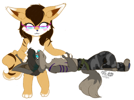 Gift Art: Ace and Max by NekoSister