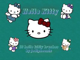 Hello Kitty Brush Pack by jodipheonix