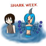 Shark week by ryontail