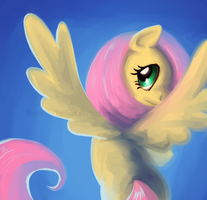 Fluttershy by DiscordTheTrollest