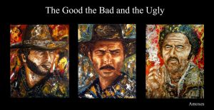 The Good the Bad and the Ugly by amoxes