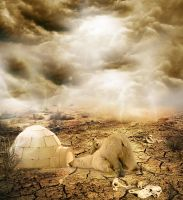 cracked earth by colouroo