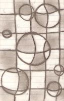 Drops on  a Checkerboard by super-fat-man