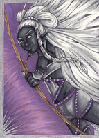 ACEO 02 - Shivra by WeeverWolf