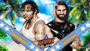 WWE Summerslam Custom Matchcard by AY by AyBenoit12