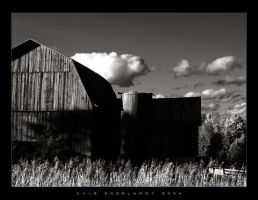 This Old Barn II by kcegraphics