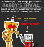 Robby's Rival Poster by austoon