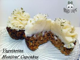 Inside the Vegetarian Meatloaf Cupcakes by Corpse-Queen