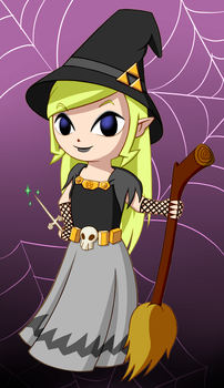 Witch Zelda by Tharene
