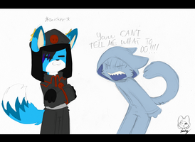 You're not the boss of me! by SmilehKitteh