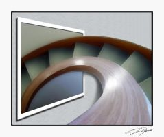 OOB Curved Stairs by electricjonny