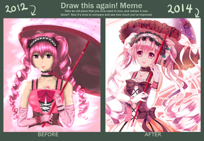 Draw Again Meme 2012 - 2014 by Pinlin