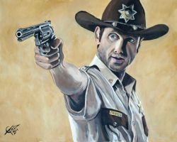Rick Grimes by ZomBieTOmmm