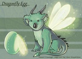 Dragonfly Egg - Adoptable by Ulario
