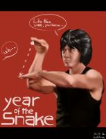 2013 year of the snake by babtong