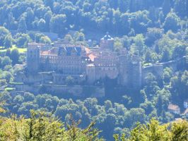 Heidelberg Castle Stock by Mondilein-Stock