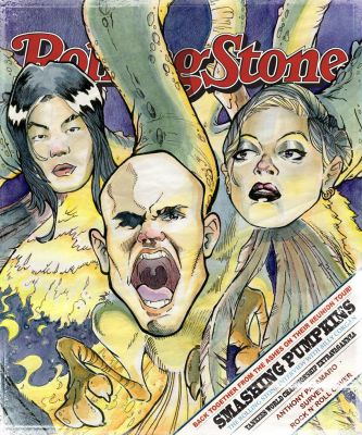 Rolling Stone Cover by illustr8r77