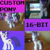 Custom Pony Toy: 16-BIT by gamemastertom