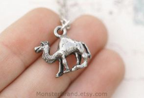 Camel Hump Day Necklace by MonsterBrandCrafts