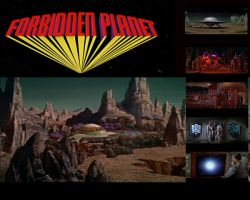 Forbidden Planet Wallpaper by syc1959