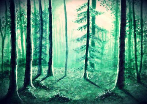 Woodland Winters by Ane-Artworks