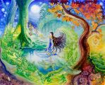 The Tale of Beren and Luthien by greensap