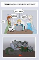 Frozen - the Internet by Loony-Lucy