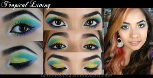 Makeup - Tropical Living by threevoices