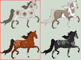 Saddlebred Adopts by JourneytoRevenge