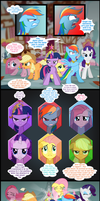 My little pony - the six winged serpent - p6 by Culu-Bluebeaver