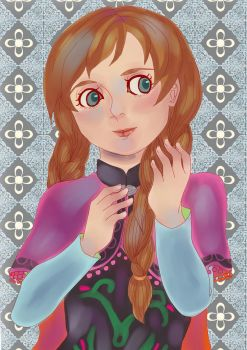 Anna of Arendelle by tahurasamawar