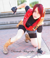 Claire Redfield cosplay RE Clan Master by Queen-Stormcloak
