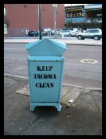 Keep Tacoma Clean by Ahlana