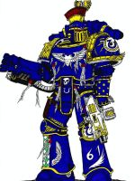Captain, 61st Company Ultramarines by terraluna5