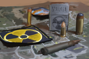 s.t.a.l.k.e.r. still life by GFITHER
