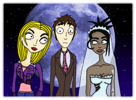 The Doctor's Corpse Bride by andy-pants